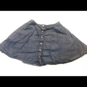 Denim Circle Skirt : American Rag